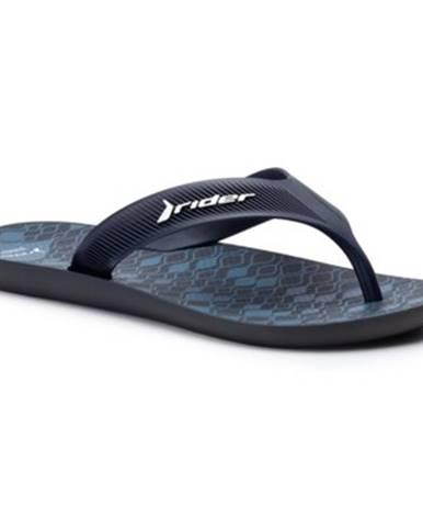 Tmavomodré sandále Rider