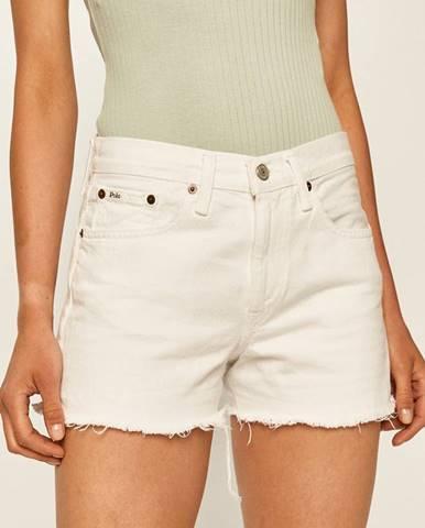 Biele šortky Polo Ralph Lauren