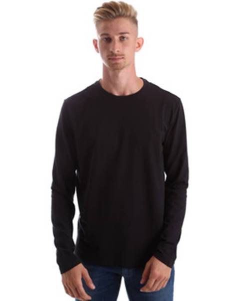 Čierne tričko Gas