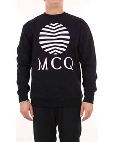 Čierna mikina McQ Alexander McQueen