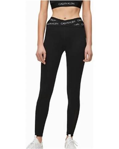 Čierne legíny Calvin Klein Jeans