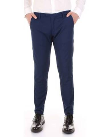 Modrý oblek Bicolore