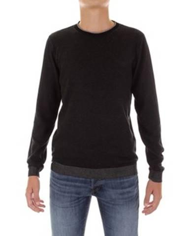 Čierny sveter Fred Mello