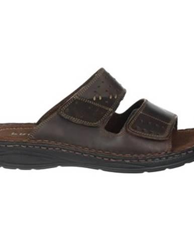Hnedé sandále Pregunta