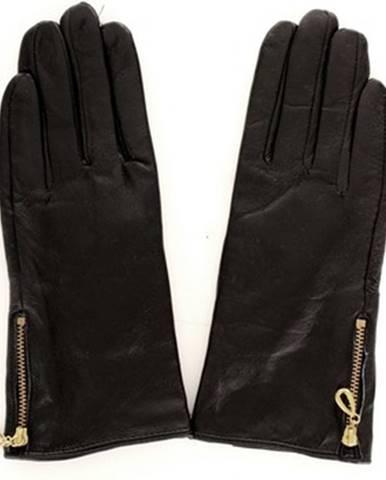 Čierne rukavice Sandro Ferrone