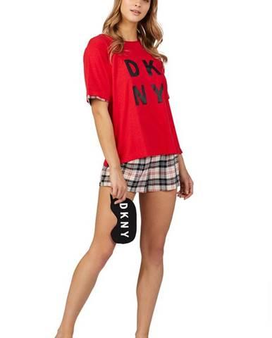 Červené kraťasy DKNY