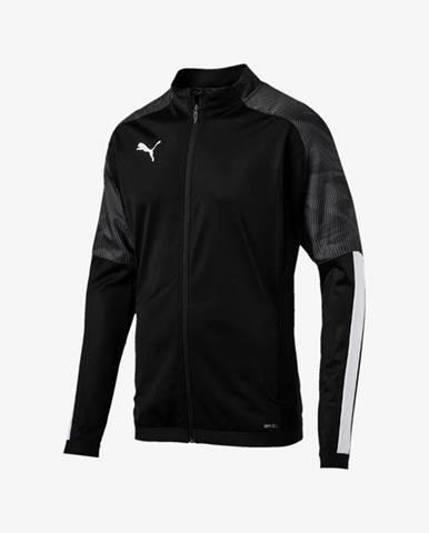 Čierna bunda bez kapucne Puma
