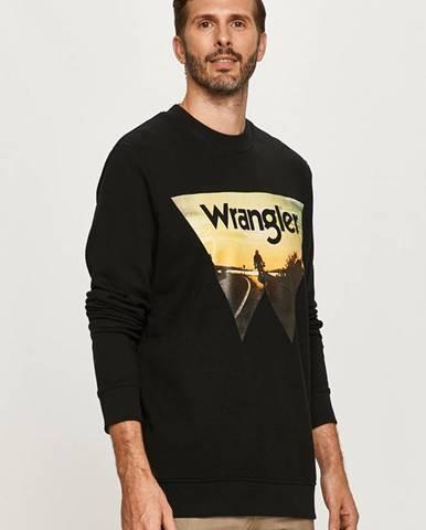 Čierna mikina Wrangler