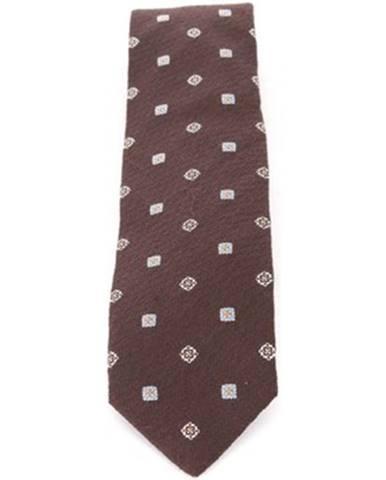 Hnedá kravata Stile Latino