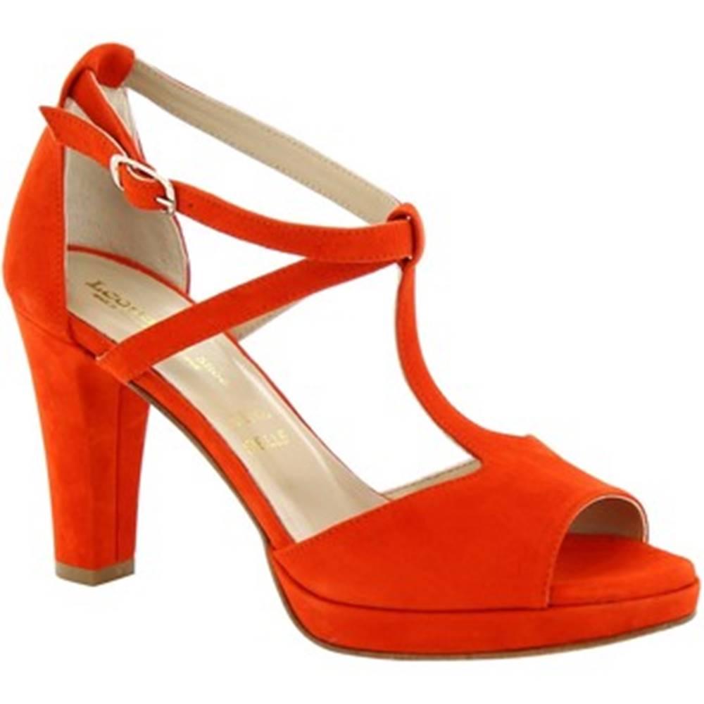 Leonardo Shoes Sandále  131CAMOSCIO ROSSO