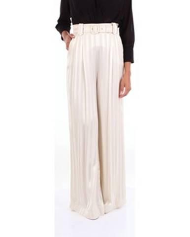 Béžové nohavice W Les Femmes By Babylon