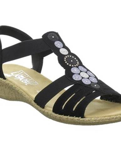 Sandále, žabky Rieker