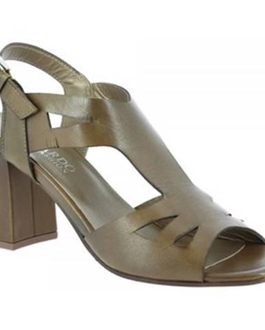 Sandále, žabky Leonardo Shoes