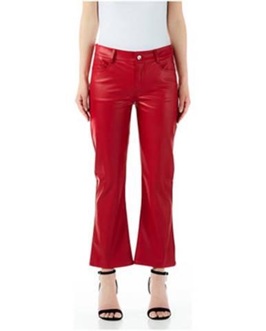 Červené chino nohavice Liu Jo