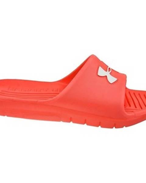 Červené sandále Under Armour