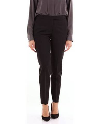 Čierne chino nohavice Brag-Wette