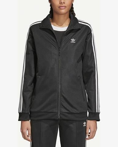 Čierna mikina bez kapucne adidas Originals