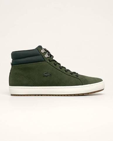 Zelené topánky Lacoste