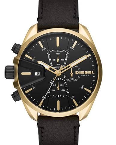 Čierne hodinky Diesel