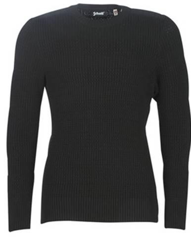Čierny sveter Schott