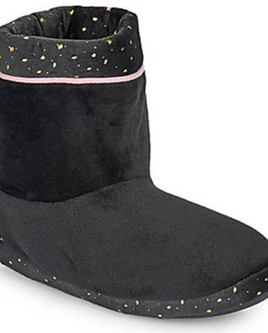 Čierne papuče DIM