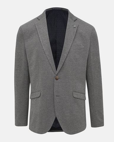 Sivé sako Selected Homme