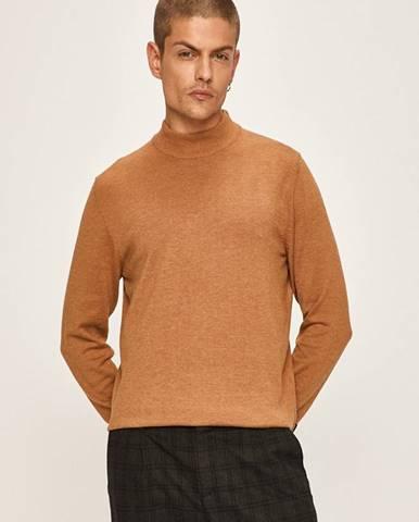 Hnedý sveter Premium by Jack&Jones