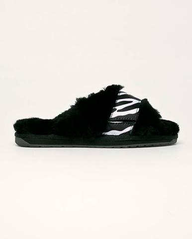 Čierne papuče Emu Australia