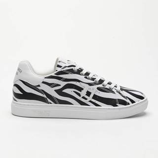 Topánky Trussardi Sneaker Pu Animalier Reverse Farebná