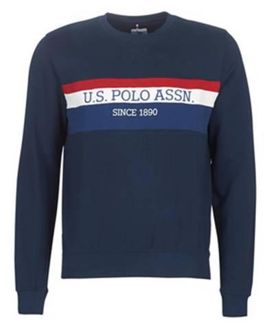 Modrá mikina U.S Polo Assn.