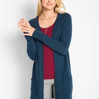 bonprix Dlhý pletený sveter, dlhý rukáv