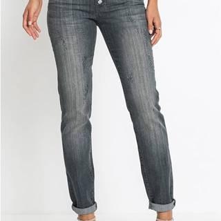Strečové džínsy used look