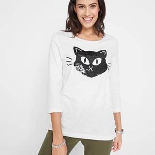 Bavlnené tričko s aplikáciou