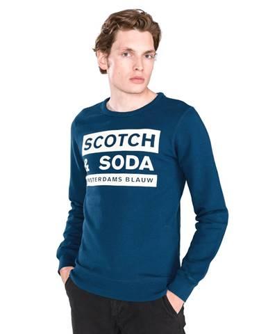 Modrá bunda bez kapucne Scotch & Soda