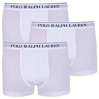 3PACK pánske boxerky Ralph Lauren biele