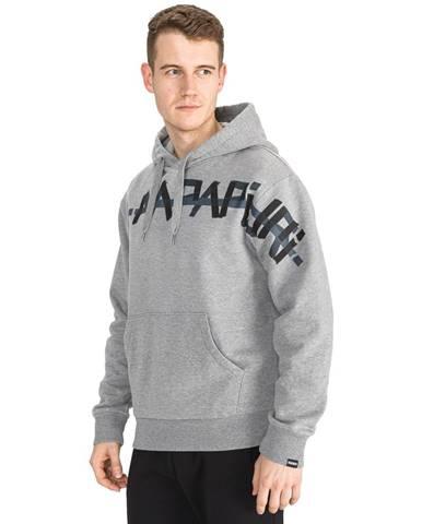 Sivá bunda s kapucňou Napapijri