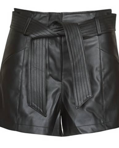 Čierne šortky Morgan