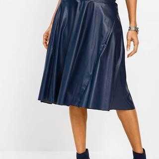 Koženková sukňa
