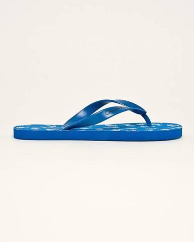 Modré sandále Calvin Klein Underwear