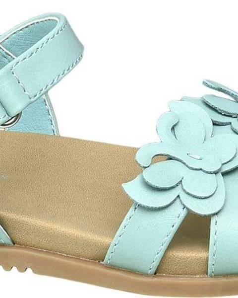 Zelené sandále Cupcake Couture