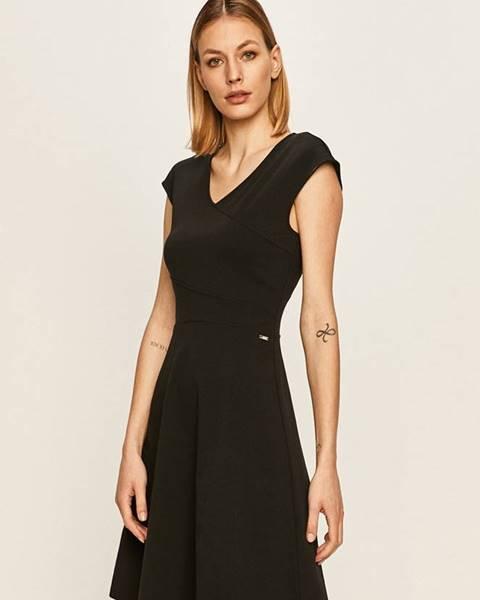 Čierne šaty Armani Exchange