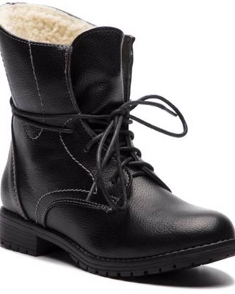 Šnurovacia obuv Clara Barson WYL1623-1 koža ekologická