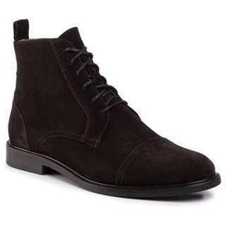 Členkové topánky Gino Rossi MTU417-CHUCK-04 koža(useň) zamšová
