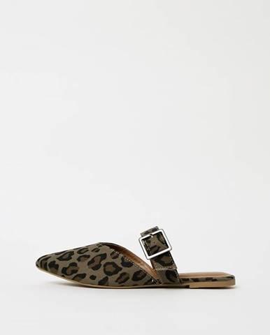 Kaki papuče Pieces