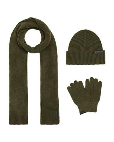 Zelený šál Trussardi Jeans