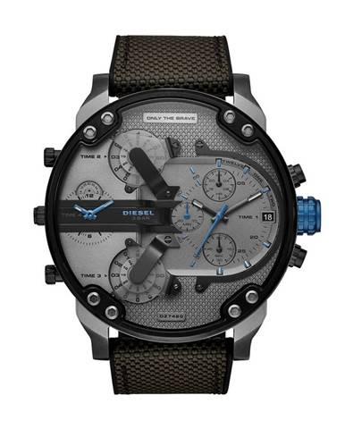 Sivé hodinky Diesel