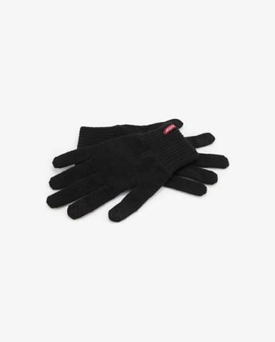 Čierne rukavice Levi's