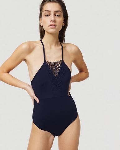 Modré jednodielne plavky O'Neill