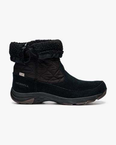 Čierne zimná obuv Merrell
