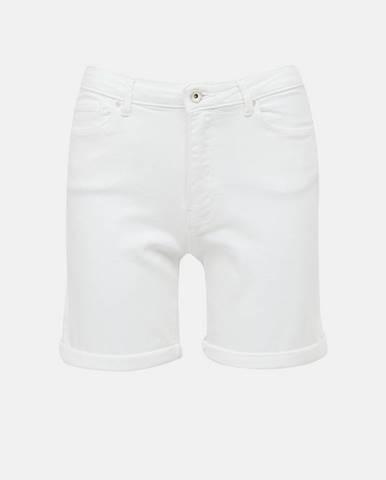 Biele riflové kraťasy Only
